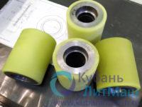 полиуретановые промышленные колеса со шпоночным пазом